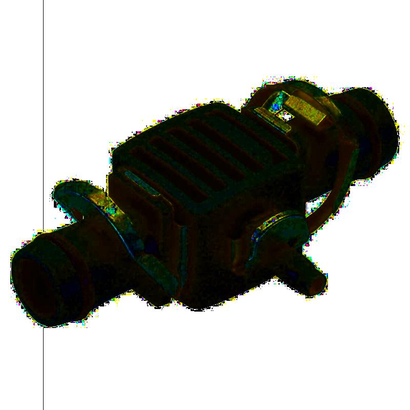 Соединитель-переходник GARDENA Т-образный 13 мм (08333)