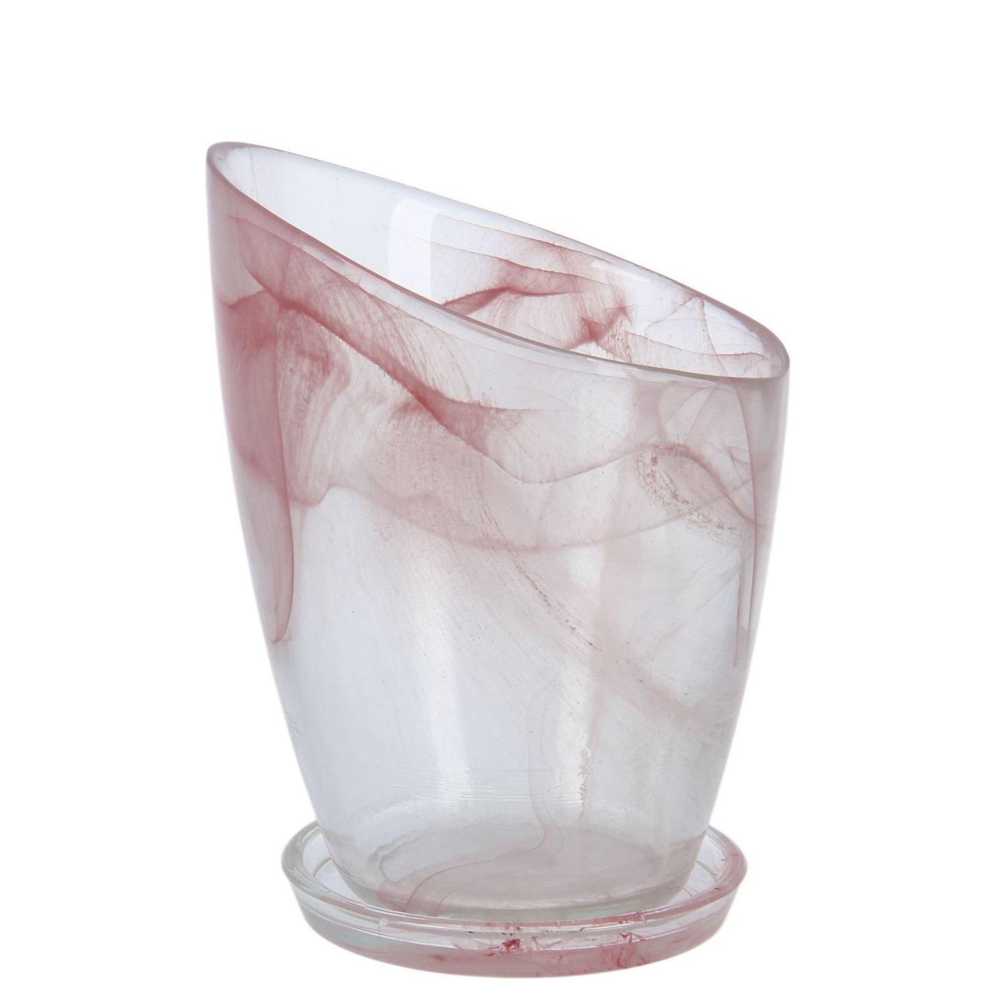 Кашпо Шерон розовое 16,8 (93-056)