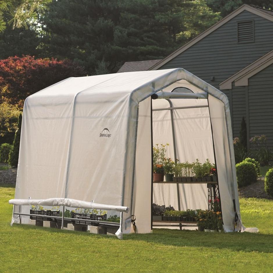 Тентовая теплица ShelterLogic (США), 1.8 x 2.4 x 2 м