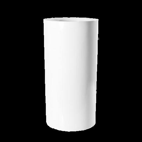 Кашпо белое 60 см