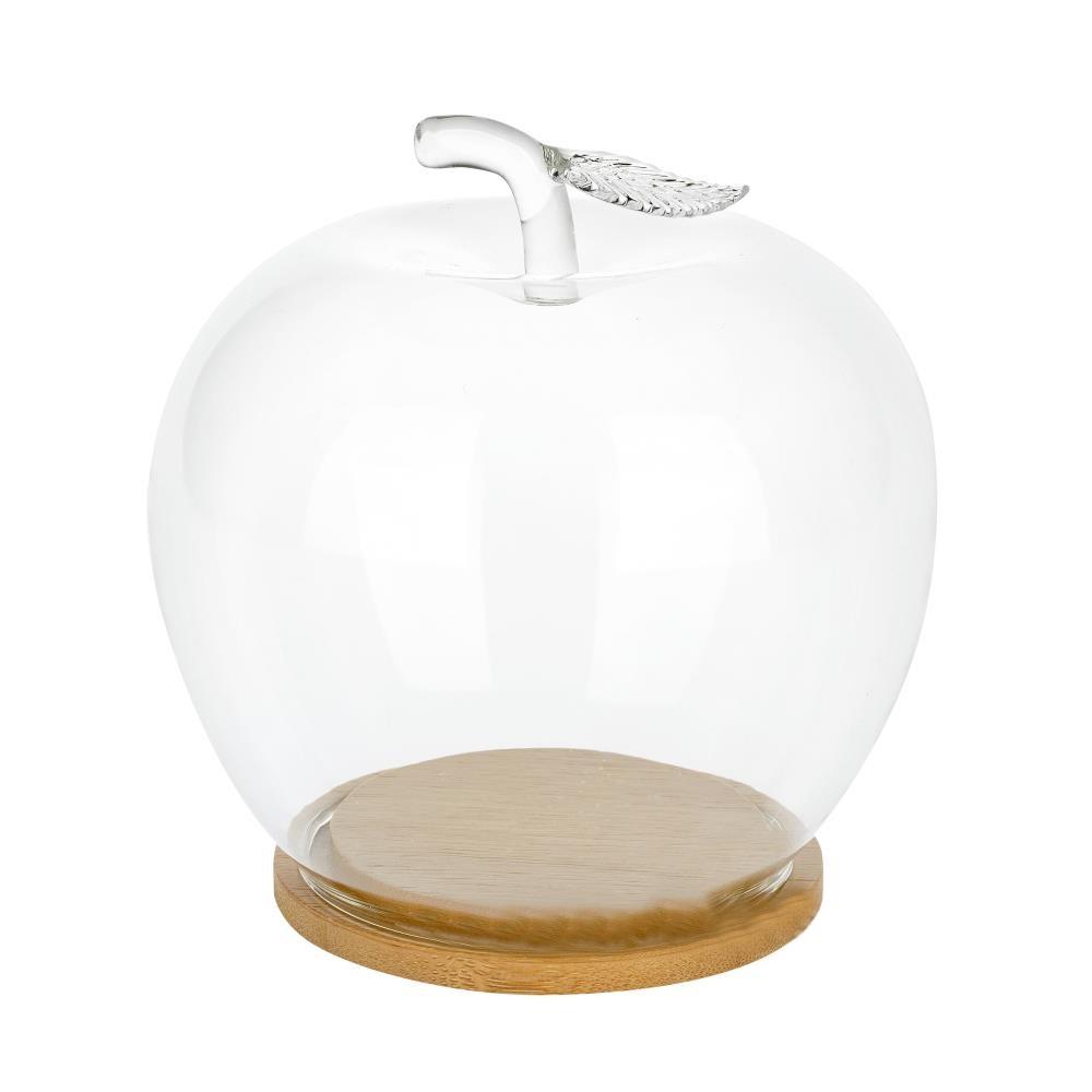 Флорариум Яблоко (стекло, дерево)