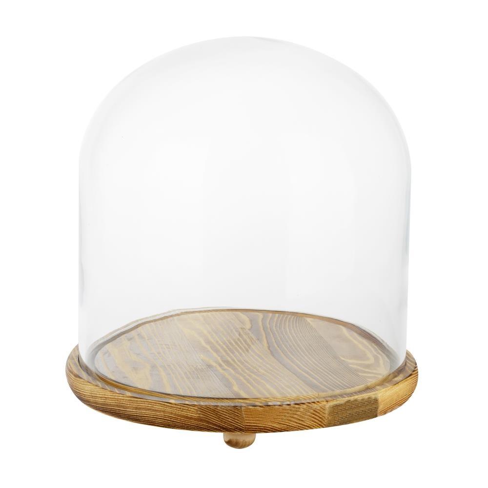 Флорариум Пудинг (стекло, дерево)