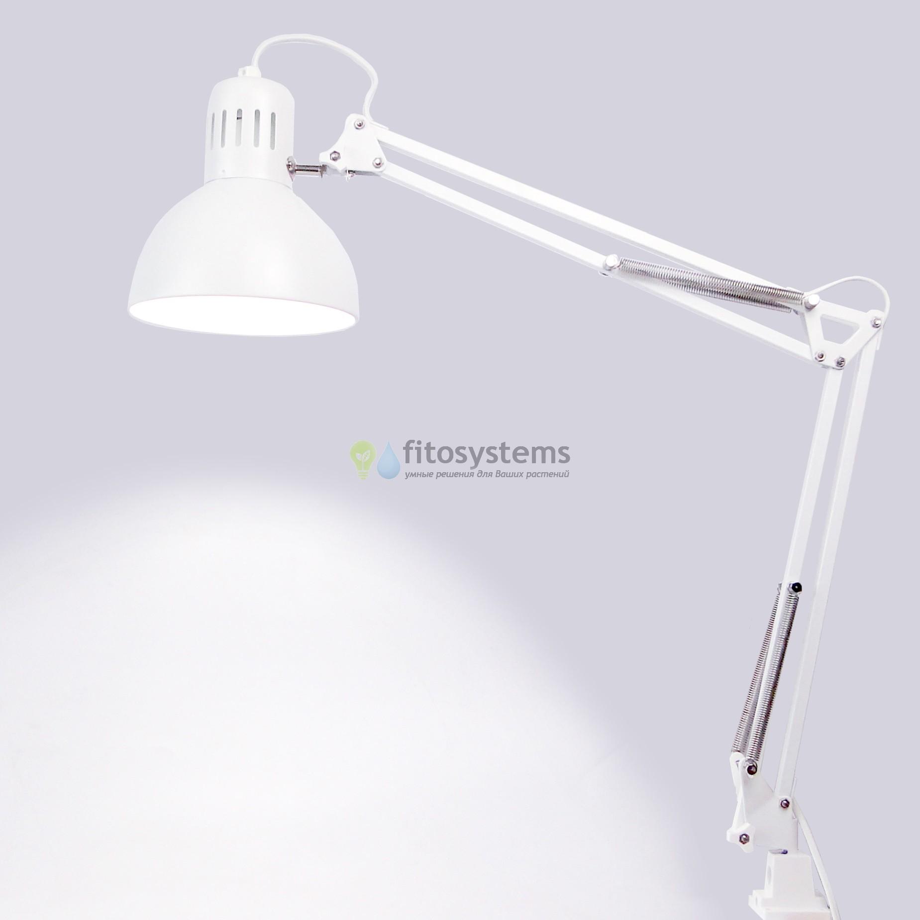 Фитосветильник с LED светодиодной лампой
