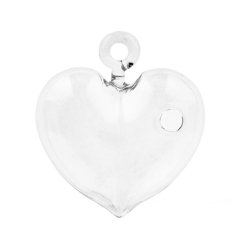 Ваза подвесная Сердце (стекло)