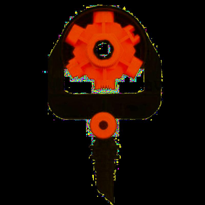 Микродождеватель GARDENA шестипозиционный (01396)
