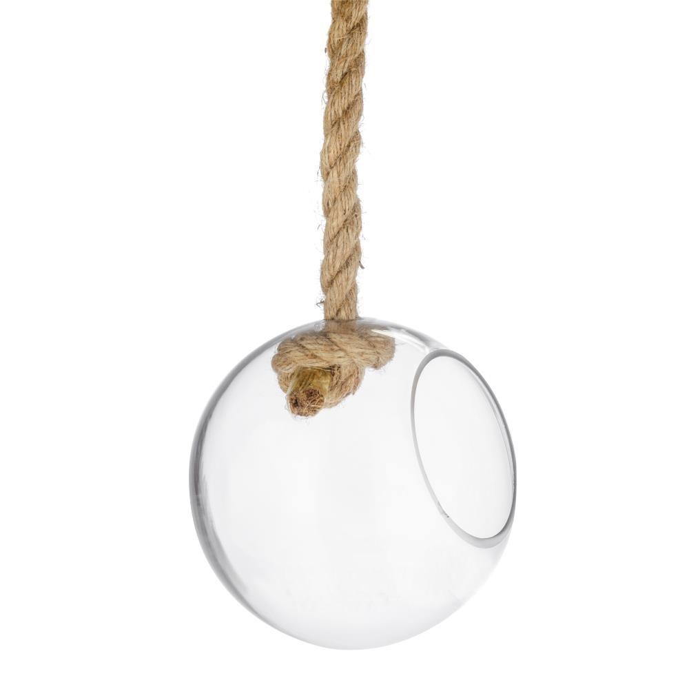Флорариум подвесной Сфера (стекло)