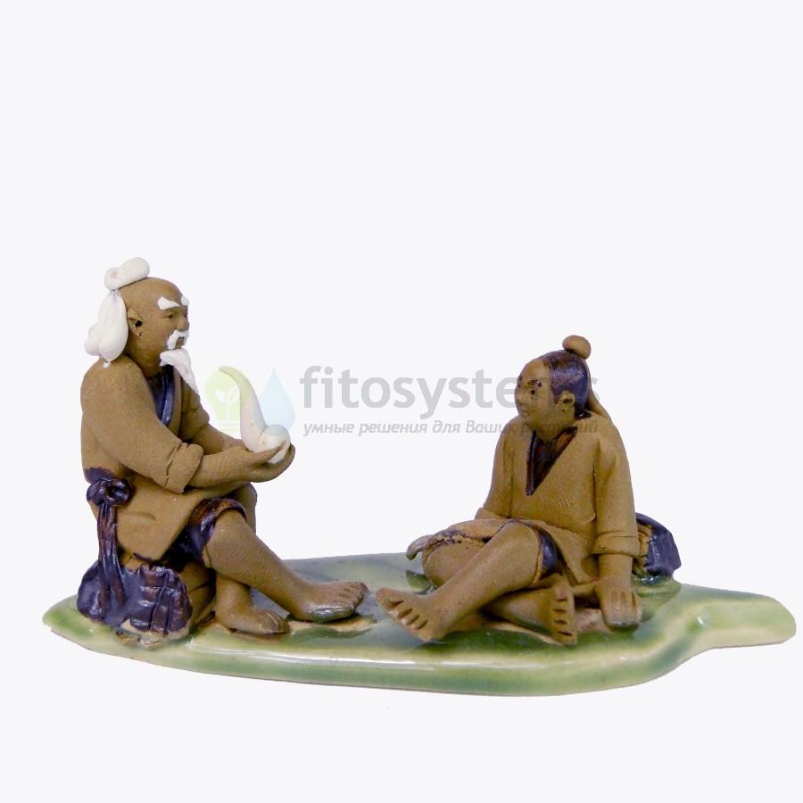 Керамическая фигурка «Мастер и ученик»