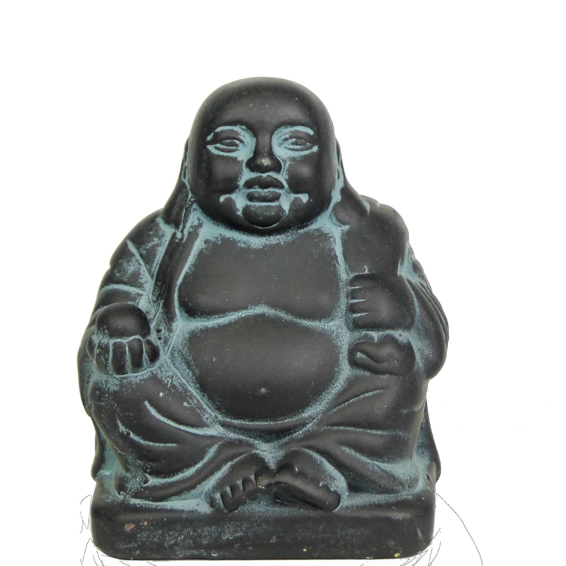 Керамическая фигурка Будды с мешком