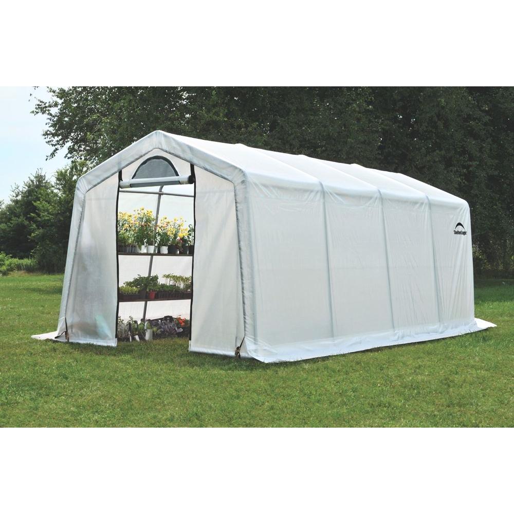 Тентовая теплица ShelterLogic (США), 3 х 6.1 х 2.4 м