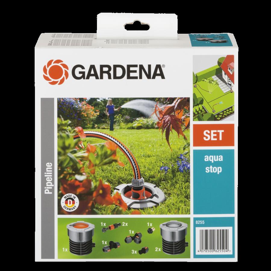 Комплект садового водопровода GARDENA базовый (8255)