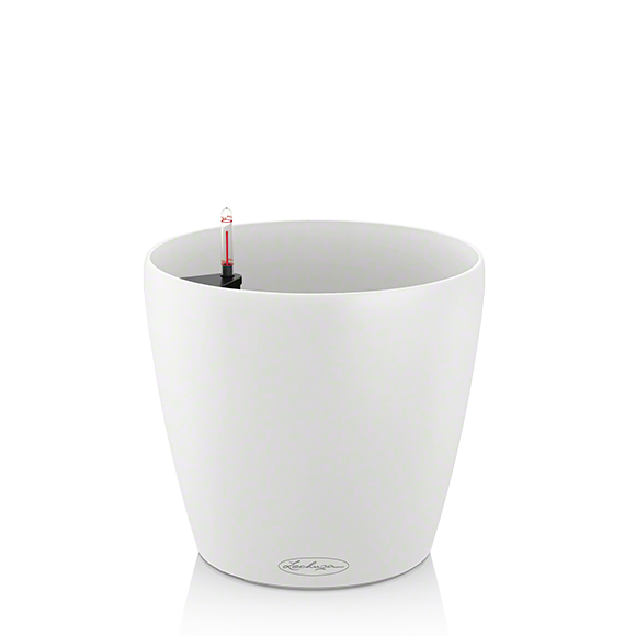 Кашпо Lechuza Classico Color 21 Белое