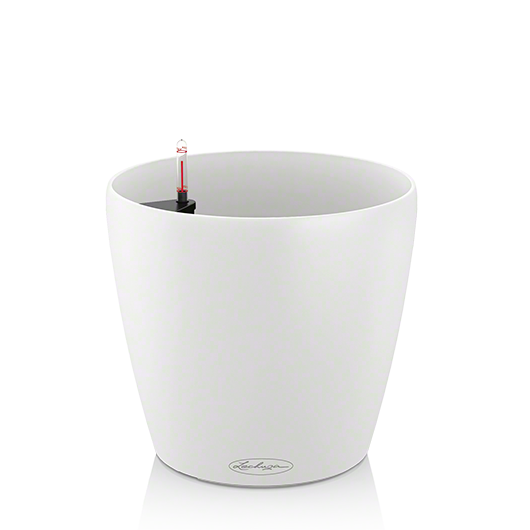 Кашпо Lechuza Classico Color 28 Белое