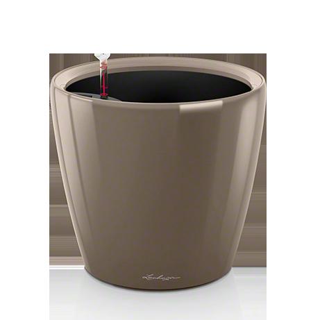 Кашпо Lechuza Classico LS 35 Серо-коричневое