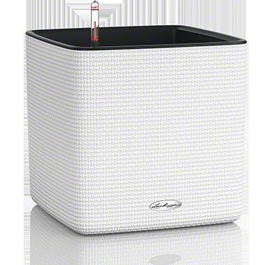 Кашпо Lechuza Cube LS Color 35 Белое