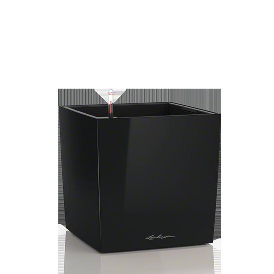Кашпо Lechuza Cube 30 Черное