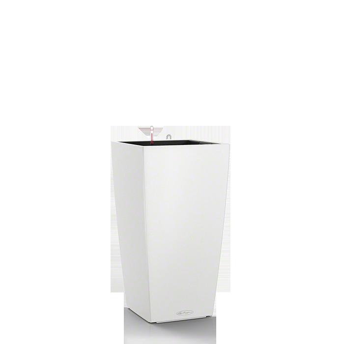 Кашпо Lechuza Cubico Color 22 Белое