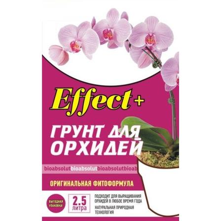 Грунт для орхидей «Эффект+» 2,5л