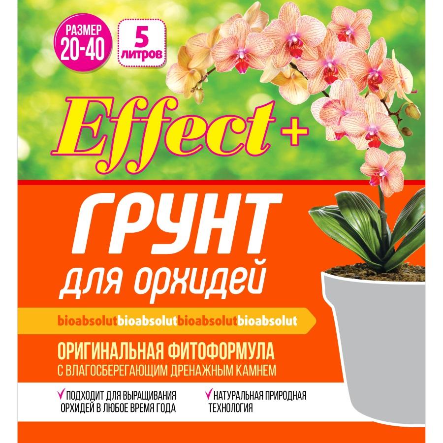 NEW! Грунт для орхидей «ЭФФЕКТ+» 5Л