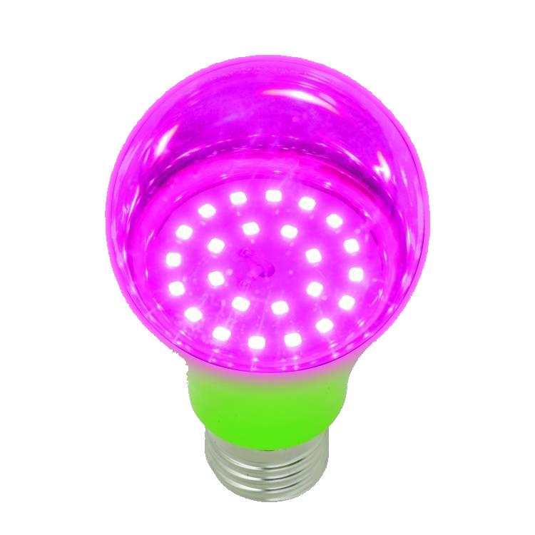 Светодиодная фитолампа LED 8Вт E27