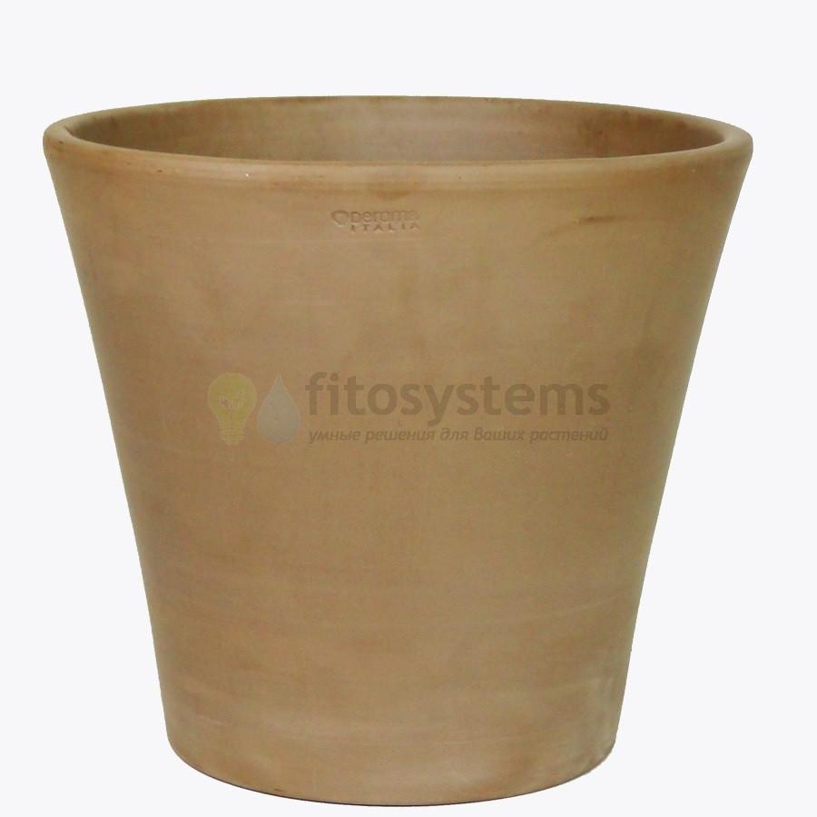 Кашпо керамическое Deroma мокко