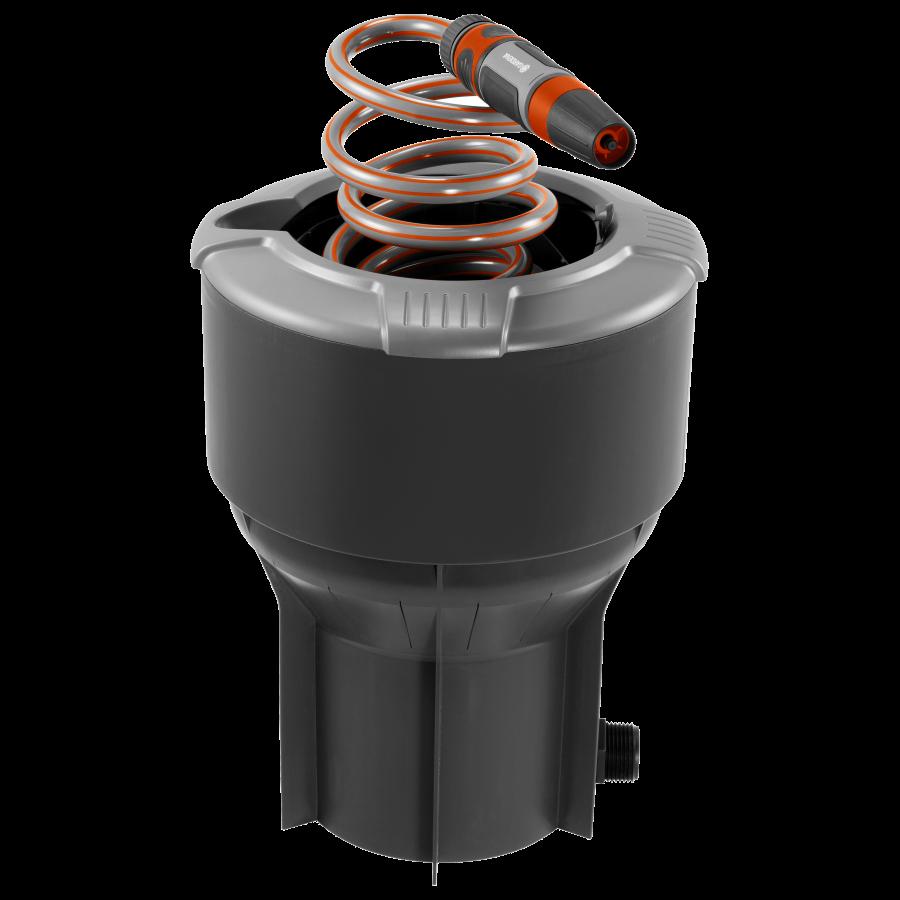 Колонка GARDENA со спиральным шлангом (8253)