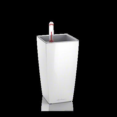 Кашпо Lechuza Mini-Cubi Белое