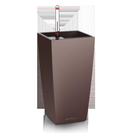 Кашпо Lechuza Maxi-Cubi Кофе