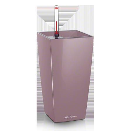 Кашпо Lechuza Maxi-Cubi Фиолетово-пастельное