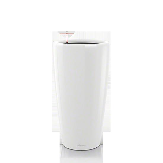 Кашпо Lechuza Rondo 32 Белое